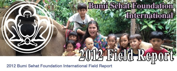 Field Report Header 2012